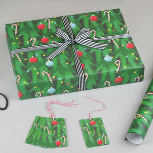 Christmas Tree Christmas Wrapping Paper