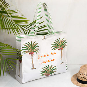 Riviera Palm Tote - gifts for her