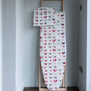 Roost Red Ironing Board Cover