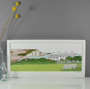 Seven Sisters Print - drawings & illustrations
