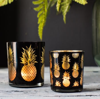 Pineapple Tea Light Holders