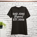 Personalised Dad Joke Expert T Shirt