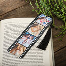 Personalised Photo Film Reel Metal Bookmark
