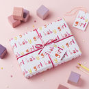 Baby Girl Wrapping Paper Set