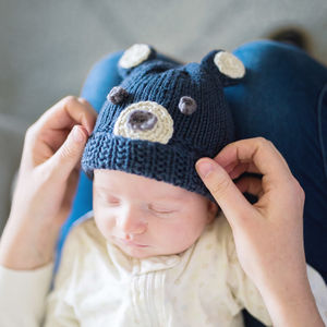Make Your Own Baby Bear Woodlands Hat Kit