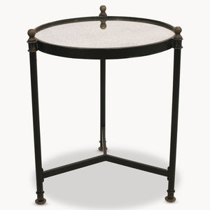 Brookby Tall Round Side Table - side tables