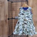 Whale Rider Twirling Dress