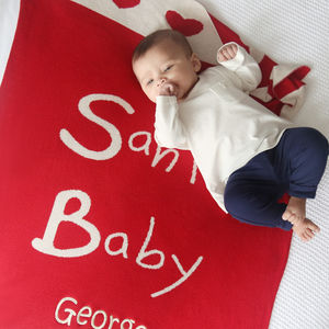 Santa Baby Blanket - decorative accessories