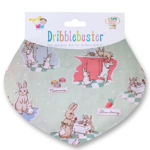 Easter Bunnies Gift Bib For Baby - easter outfits
