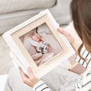 Wooden Personalised Baby Photo Frame