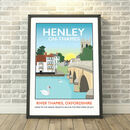 Henley On Thames, River Thames, Oxfordshire Print