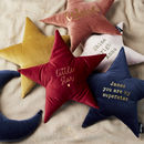 Personalised Velvet Name Cushion