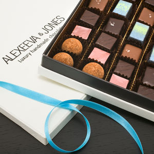 Artisan Chocolates Sea Salt And Caramel 36 Pieces
