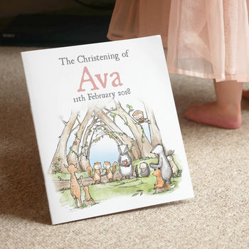 Personalised Christening Story Book
