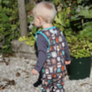 Forest Friends Kids All In One Dungarees