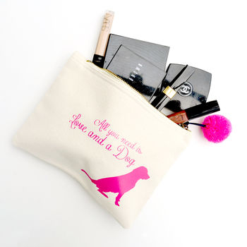 'All You Need Is' Make Up Bag
