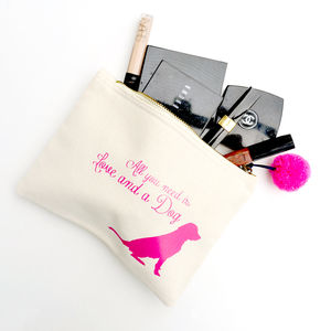 'All You Need Is' Make Up Bag - make-up bags