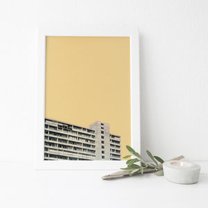 Hot In The City Architecture Print