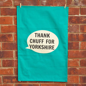 Thank Chuff For Yorkshire Tea Towel - kitchen
