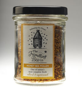 Honey Bee Raw Pollen, Two Jars - jams & preserves