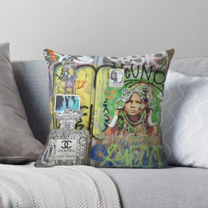 Street Art Graffiti Cushion