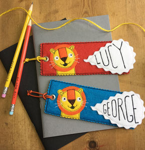 Happy Lion Bookmark - whats new