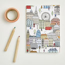 London Notebook In A6 And A5 Size