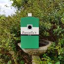 Personalised Gin Bottle Bird Box