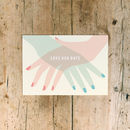 Retro Film Poster Save The Date Card