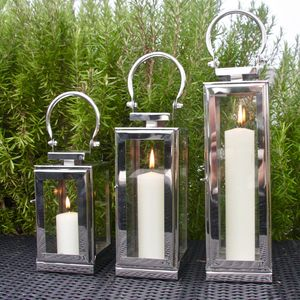 Steel New York Lantern - lighting