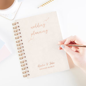 Engagement Wedding Planner Gift - planners & records