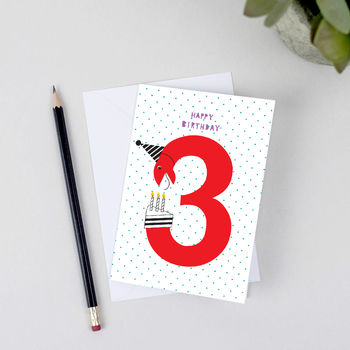 3rd Birthday Card