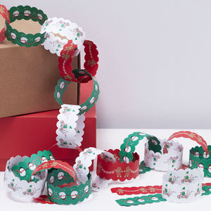 Christmas Character Festive Themed Paperchains