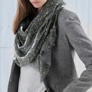 Personalised Metallic Scarf - shop by recipient