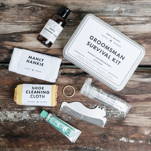 Groomsman Survival Kit - bath & body