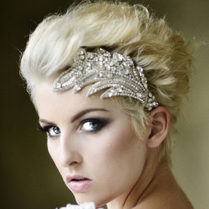 Darcy Swarovski Crystal And Rhinestone Headdress