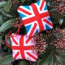 Pink Union Jack Mini Tapestry Hanging Decoration Kit