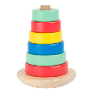 Wobbly Wooden Stacking Toy - board games & puzzles