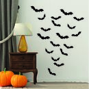 Bat Halloween Decoration Wall Stickers