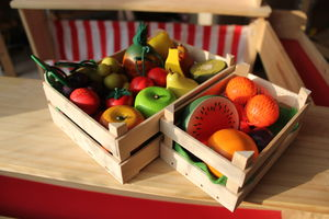 Pick Your Own Wooden Toy Fruit And Vegetables - educational toys