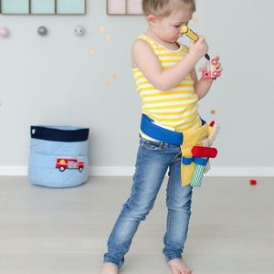 Handmade Tool Belt Soft Play Toy