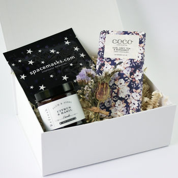'Off Duty' Candle And Treats Gift Box