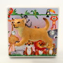 Safari Animal Light Switch For Jungle Themed Bedrooms