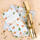 Gingerbread Wonderland Set Of Four Napkins