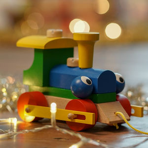 Personalised Wooden Train Take Apart And Pull Along Toy - personalised gifts