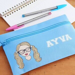Personalised Create Your Own School Pencil Case