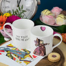 Red Queen Of Hearts Alice In Wonderland Mug