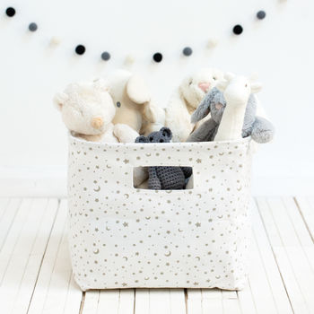 Moon And Stars Storage Bag