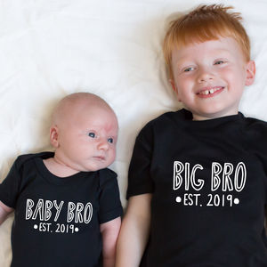 Sibling Established T Shirt Set