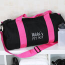 Personalised Fit Kit Gym Bag